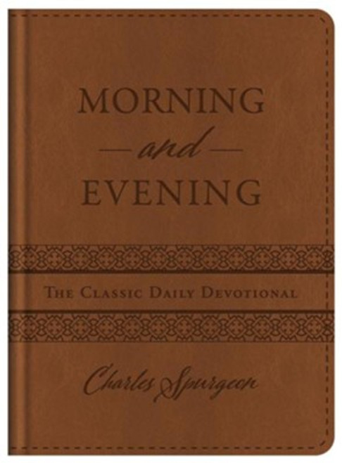 Morning and Evening Devotional, Leatherlike Hardcover by Charles Spurgeon