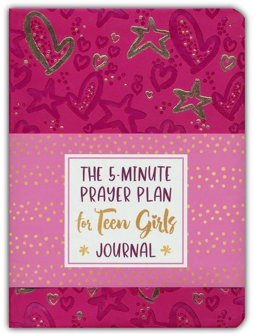 The 5-Minute Prayer Plan for Teen Girls Journal