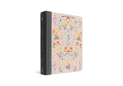 ESV Single Column Journaling Bible Artist Series, In Bloom by Lulie Wallace HC