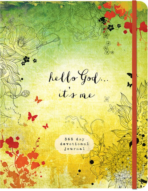 Hello, God, It's Me: A 365-Day Devotional Journal