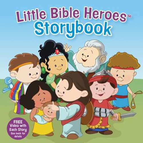Little Bible Heroes Storybook (padded hardcover) by David Ryley, Mike Krome, & Victoria Kovacs