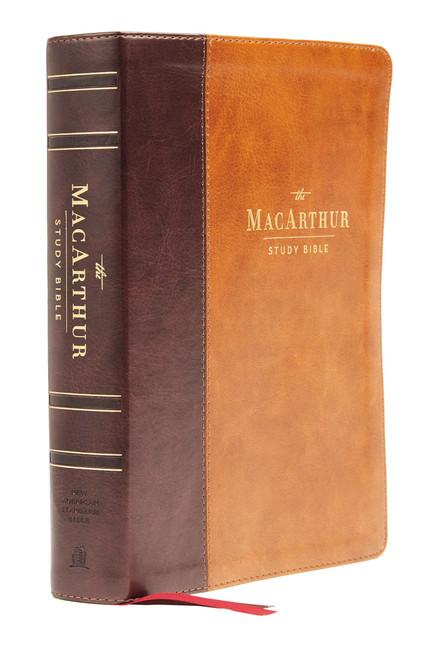 NASB MacArthur Study Bible 2nd Edition, Brown Leathersoft, Comfort Print