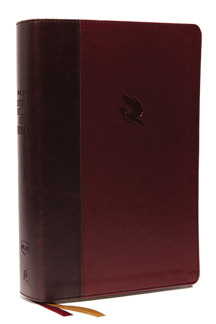 NKJV Spirit-Filled Life Bible 3rd Edition, Burgundy Leathersoft, Thumb-indexed