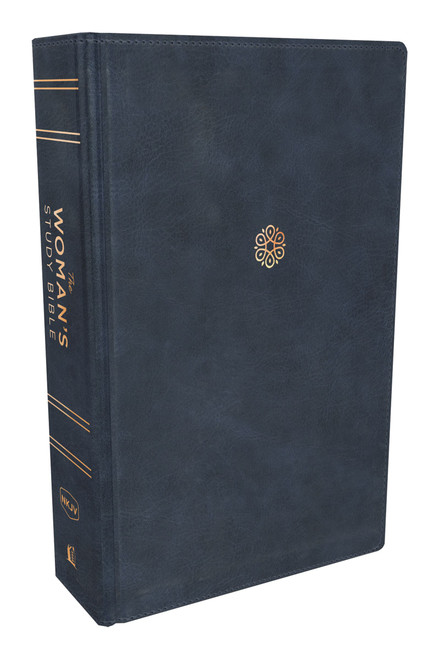 NKJV The Woman's Study Bible, Blue Leathersoft