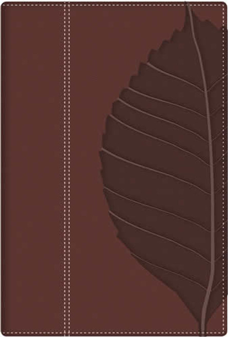 RVR 1960 Biblia de Estudio Vidas Transformadas, Marrón Duotono
