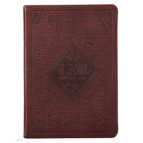The Names of God Classic LuxLeather Journal