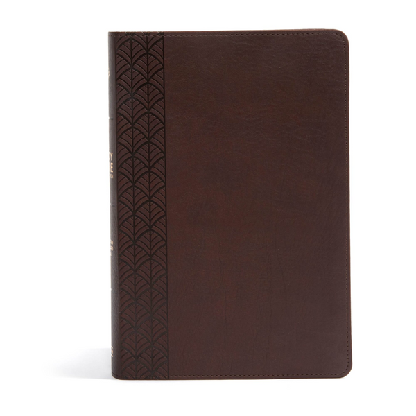 CSB Study Bible for Women, Chocolate LeatherTouch