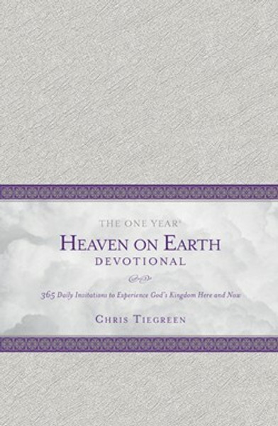 The One Year Heaven on Earth Devotional LeatherLike Cover by Chris Tiegreen and Walk Thru The Bible