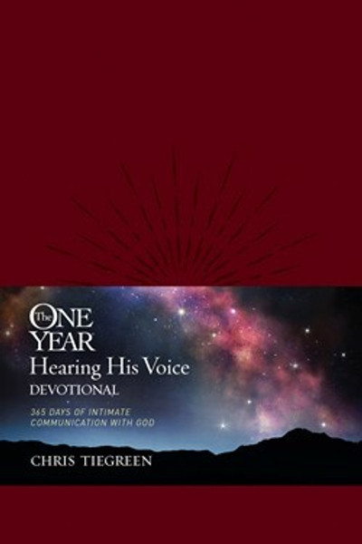 The One Year Hearing His Voice Devotional LL by Chris Tiegreen