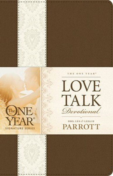 The One Year Love Talk Devotional for Couples in Leatherlike Cover by Les Parrott and Leslie Parrott