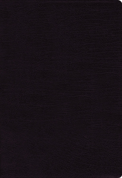 NASB, Thinline Bible, Bonded Leather, Black, Red Letter, 1995 Text, Thumb Indexed, Comfort Print