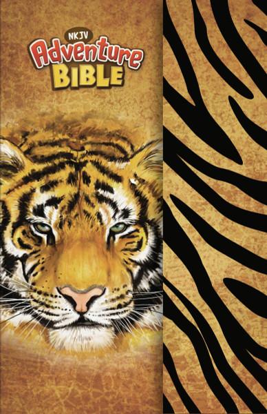 NKJV Adventure Bible, Tiger Hardcover, Magnetic Closure