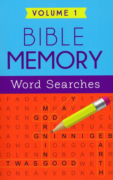Bible Memory Word Searches Volume 1