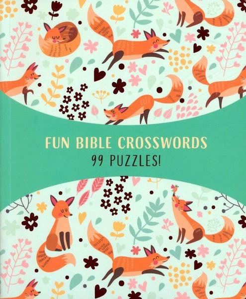 Fun Bible Crosswords - 99 Puzzles