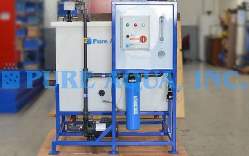 Système de Nettoyage à Membrane 30 GPM - Venezuela