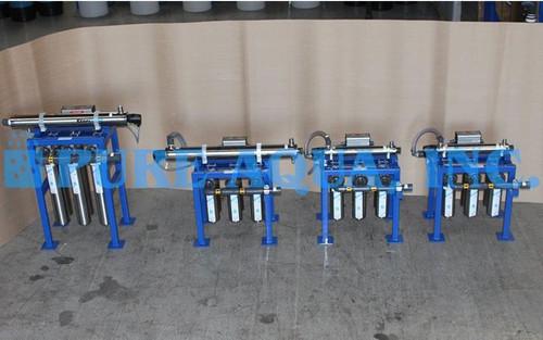 Boîtier de Filtre à Cartouche en Acier Inoxydable Avec UV 2 x 7200 GPD, 17000 GPD, 46000 GPD - Koweït