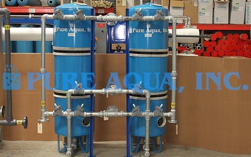 Filtre Média en Acier au Carbone Duplex 35 GPM - Koweït