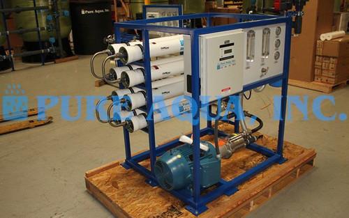 Machine D'Eau de Mer Par Osmose Inverse 7600 GPD - Russie