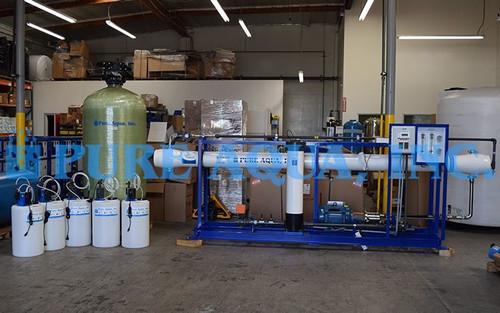 Dessalement d'Eau de Mer pour l'Irrigation par Osmose Inverse 16000 GPD - Arabie Saoudite