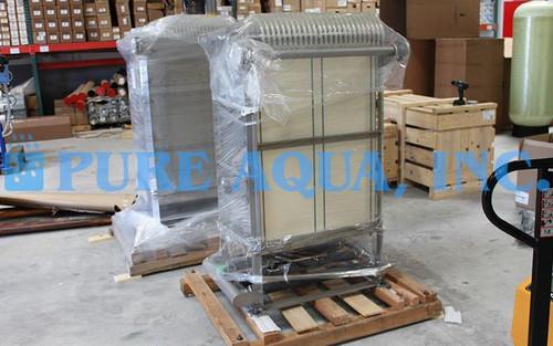 Machine à Membrane Bioréacteur 10000 GPD - Arabie Saoudite