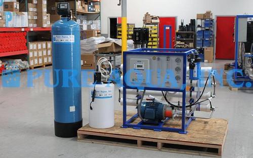 Machine Dessalinisateur Commercial 3800 GPD - Singapour