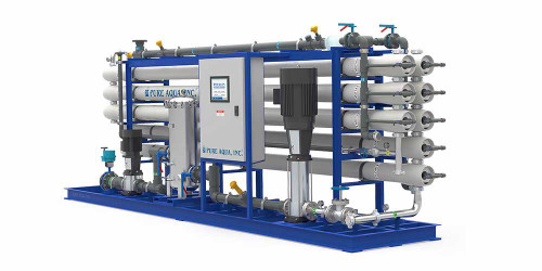 Systèmes d'Osmose inverse d'eau saumâtre industrielle RO-500