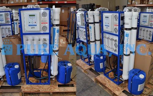 Systèmes d'Osmoseurs Commerciaux 100 x 3000 GPD - Sri Lanka