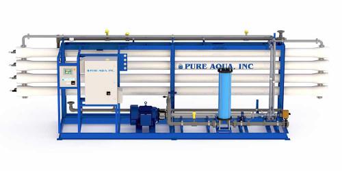 Systèmes de dessalement industriel d'osmose inversée d'eau de mer SWI