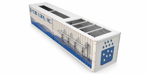Système de Traitement d'eau usée Containérisé et Bioréacteur de Membrane (MBR-C)