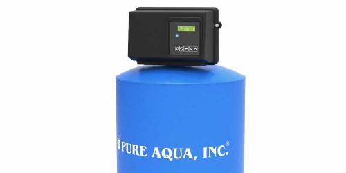 Filtre de milieux aqueux commerciale avec une valve Fleck MF-410