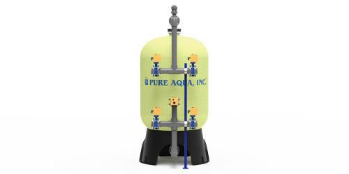 Filtre de fluide pour réservoir d'eau industriel FRP MF-600