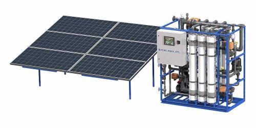 Systèmes d'Ultrafiltration fonctionnant à l'énergie solaire