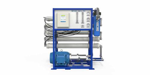 Système commerciale SWC d'osmose inversée d'eau de mer