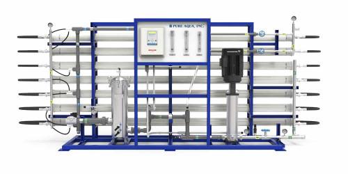 Systèmes d'Osmose Inversée commerciale pour eau saumâtre BWRO RO-300