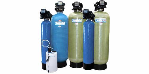 Système Commercial de filtration FRP d'eau MF-500 avec Valve Autotrol