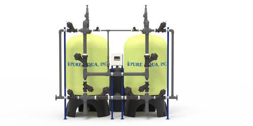 Systèmes d'adoucisseurs d'eau industriels SF-110F