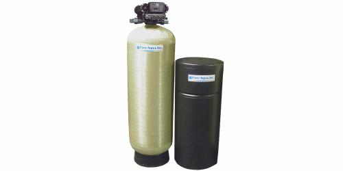 Système commercial adoucisseur d'eau SF-250A avec valve Autorol