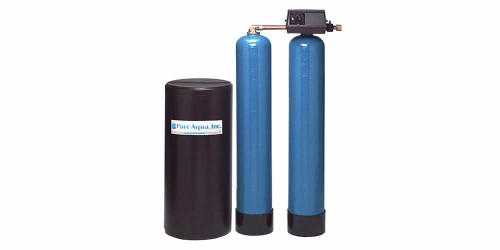 Réservoir d'adoucissant d'eau jumeaux SF-900 avec une valve Fleck
