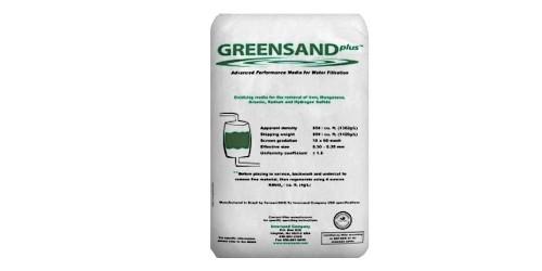 Médias de filtration Clack sable vert