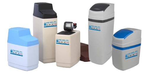Système adoucisseur d'eau résidentiel