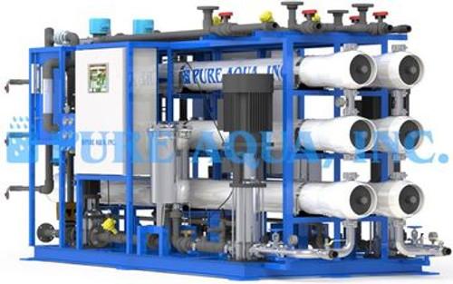 La dureté et la suppression des ions de l'eau par système de nano filtration