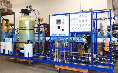 RO Forfait Industriel avec EDI Système pour les Centrales 20 GPM - Angola