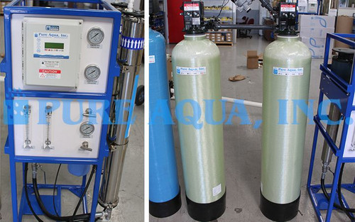 Dispositif de l'eau du Robinet d'Osmose Inverse 3000 GPD - Egypte