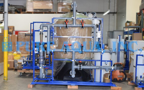 Système Ultrafiltration d'Embouteillage 150 gpm - Ghana