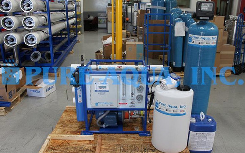Machine d'Osmose Inverse d'eau de Mer 1300 GPD - Kenya