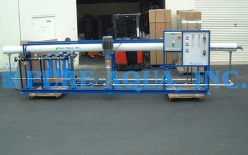 Machine Saumâtres Industrielle de l'Eau RO 43000 GPD - Tunisie