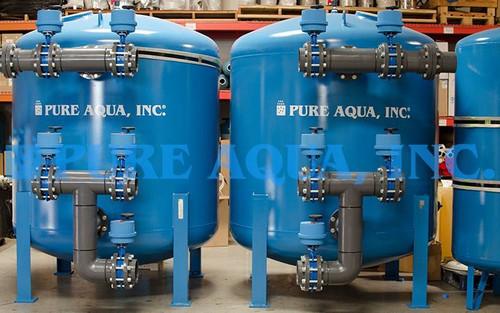 Filtration Duplex Multimédia pour l'Irrigation 956160 GPD – Koweït
