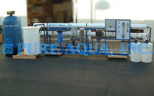 Système Industriel d'Osmose Inverse 2 X 72000 GPD - Etats-Unis