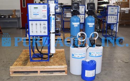 Système de Nanofiltration pour l'Eau Potable - 3000 GPD - Porto Rico