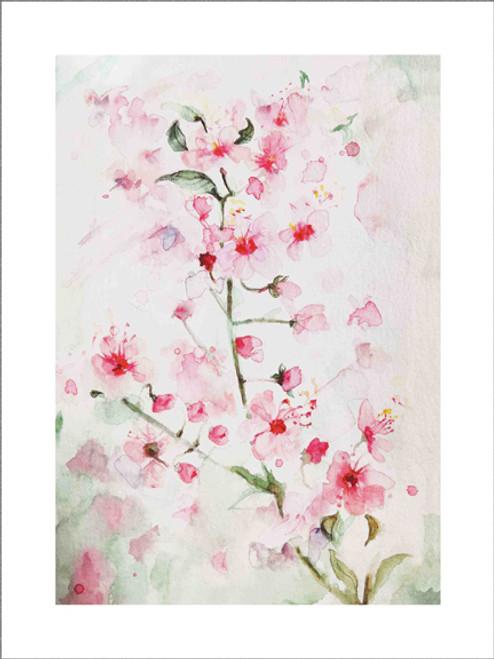 """SAKURA"" Fine Art Print by JENEM"